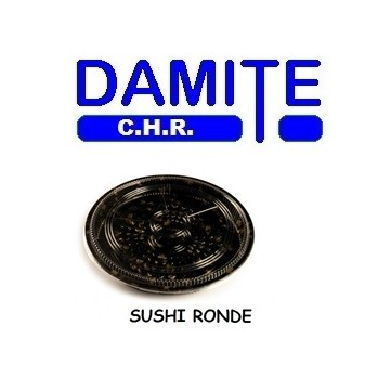 barquette sushis ronde