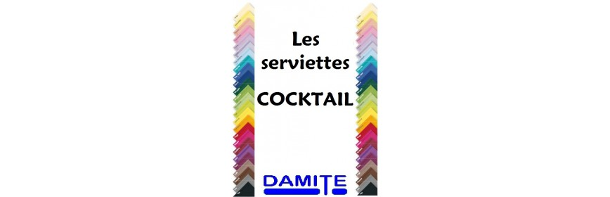 Serviettes cocktail